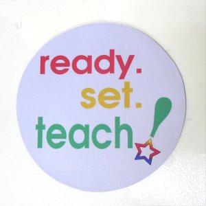 MOUSE PAD: Ready Set Teach! (GT5025)
