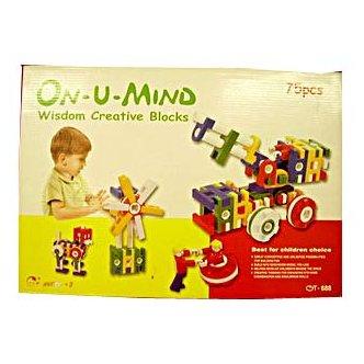 ON U MIND - WISDOM CREATIVE BLOCKS 75PCS (MP2019)