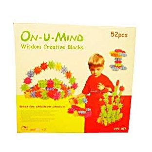 ON U MIND - WISDOM CREATIVE BLOCKS 52PCS (MP2033)
