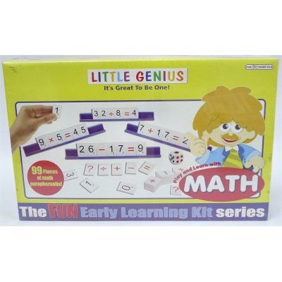 LITTLE GENIUS PLAY & LEARN WITH MATH (MS4027)