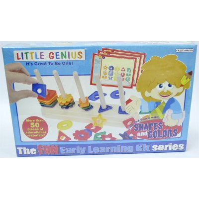 LITTLE GENIUS PLAY & LEARN WITH SHAPES & COLORS (MS4036)