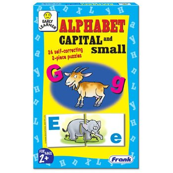 ALPHABET CAPITAL AND SMALL PUZZLE (RL6013)
