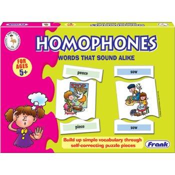 HOMOPHONES: WORDS THAT SOUND ALIKE (RL6016)