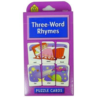 THREE-RHYME WORDS (RL6028)