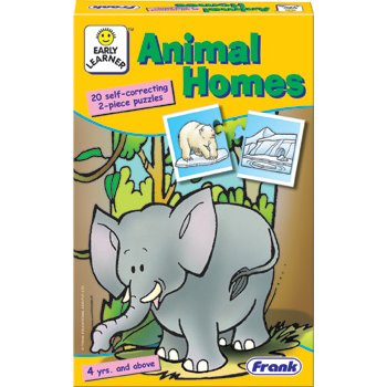 ANIMAL HOMES PUZZLE (RL6045)