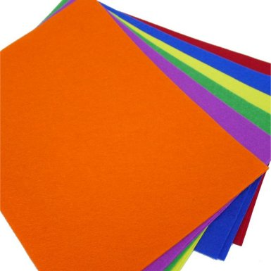 FELT FABRIC SHEETS - DARK COLOR (AC8052)