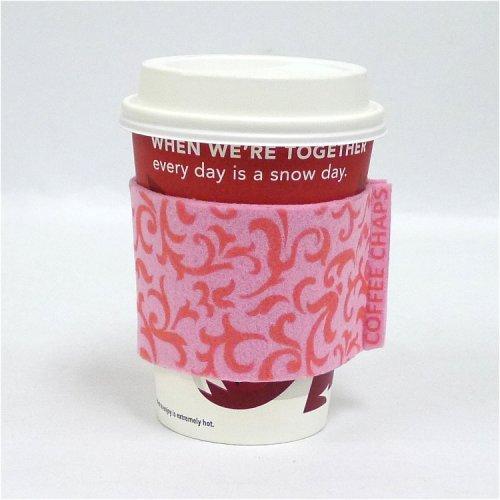 Coffee Chaps: Paisley Swirl - Pink (CC1113)