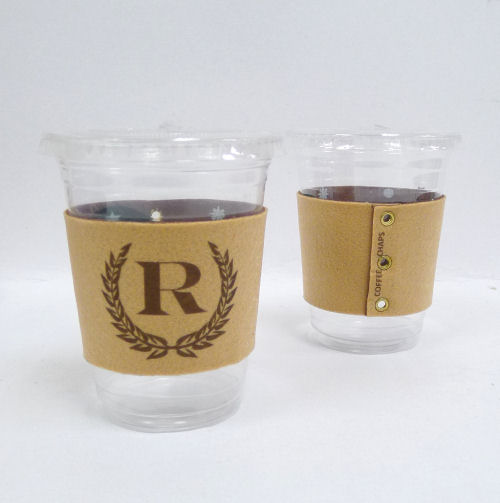 Coffee Chaps: Personalized - Outback - Laurel Monogram (CC1119)