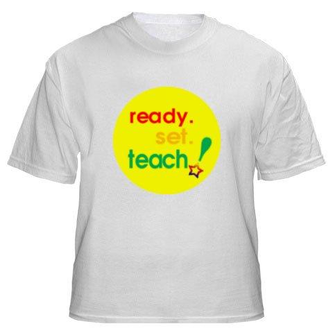 Mens Shirt: Ready.Set.Teach! (GT5016)