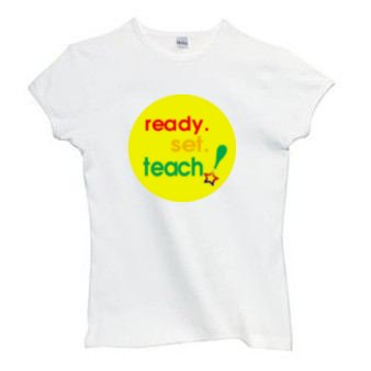 Ladies Shirt: Ready. Set.Teach! (GT5017)