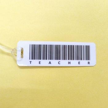 Bag Tag: Teacher Barcode (GT5024)