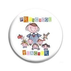 Button Pin: Preschool Teacher (GT5040)