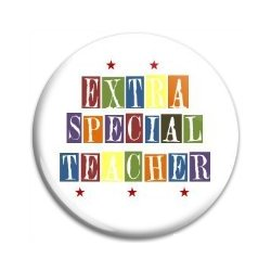 Button Pin: Extra Special Teacher (GT5048)