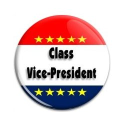 Button Pin: Class Vice-President (GT5051)