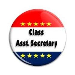 Button Pin: Class Asst Secretary (GT5053)