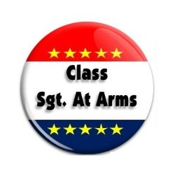 Button Pin: Class Sgt At Arms (GT5057)