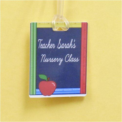 Bag Tag: Personalized Blackboard with Ruler (GT5069)