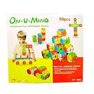 ON U MIND - CHILDHOOD FUN INTELLIGENT BLOCKS 98PCS (MP2002)