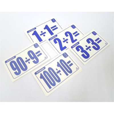 DIVISION FLASH CARDS (MS4005)