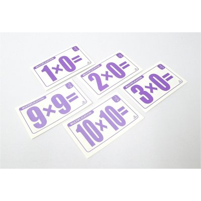 MULTIPLICATION FLASH CARDS (MS4006)