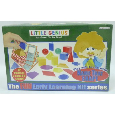 LITTLE GENIUS PLAY & LEARN WITH NAME THAT SHAPE (MS4028)