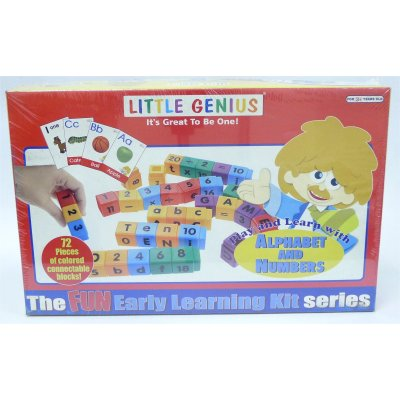 LITTLE GENIUS PLAY & LEARN WITH ALPHABET AND NUMBERS (MS4035)
