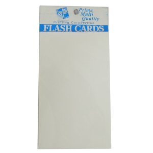 BLANK FLASH CARDS (TA3040)