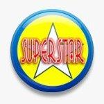 BUTTON PIN: SUPERSTAR (TA3070)