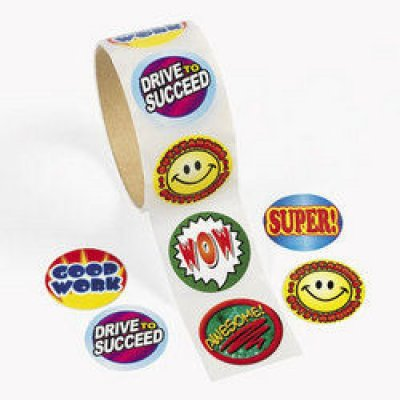100-pc Student Reward Stickers (TA3150)